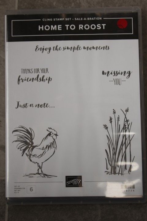 Home to Roost Stamp set