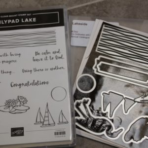 Lilypad LAke stamps and Lakeside dies