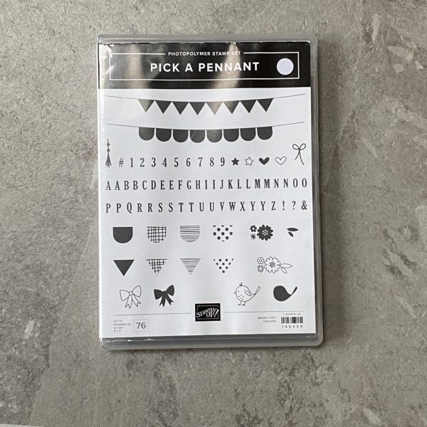 Pick a Pennant Stamp set