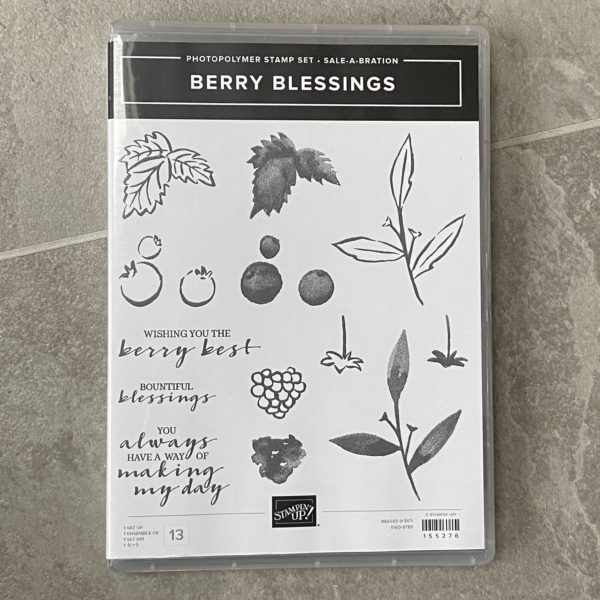 Berry Blessings stamp set
