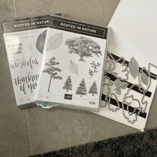 Rooted in Nature 2 stamp sets & dies